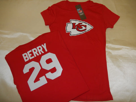 WOMENS Kansas City Chiefs ERIC BERRY Football Eligible Receiver Shirt RED