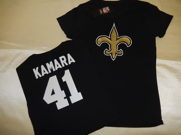 WOMENS New Orleans Saints ALVIN KAMARA Football Eligible Receiver Shirt