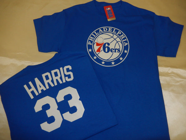 Philadelphia 76ers TOBIAS HARRIS Name and Number Shirt BLUE