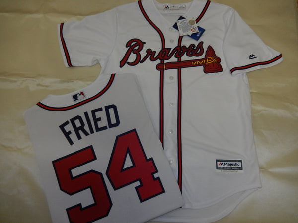 Atlanta Braves MAX FRIED Baseball WHITE Jersey