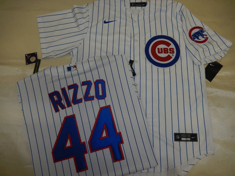 NIKE Chicago Cubs ANTHONY RIZZO Baseball Jersey WHITE