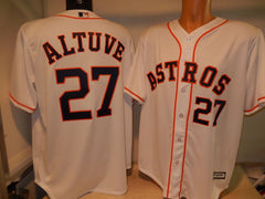 Houston Astros JOSE ALTUVE Baseball Jersey WHITE