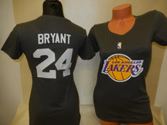 WOMENS Los Angeles Lakers KOBE BRYANT Basketball Shirt GRAY
