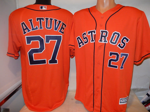 Houston Astros JOSE ALTUVE Baseball Jersey ORANGE