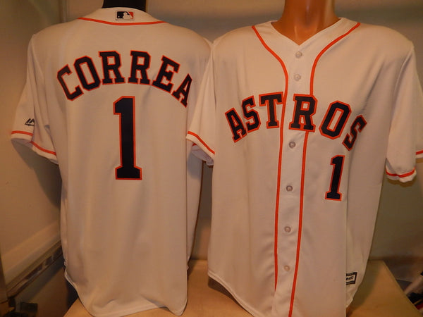Houston Astros CARLOS CORREA Baseball Jersey WHITE