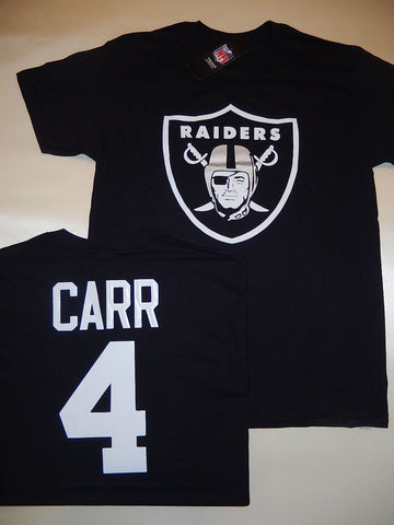 Oakland Raiders DEREK CARR Football Eligible Receiver Shirt