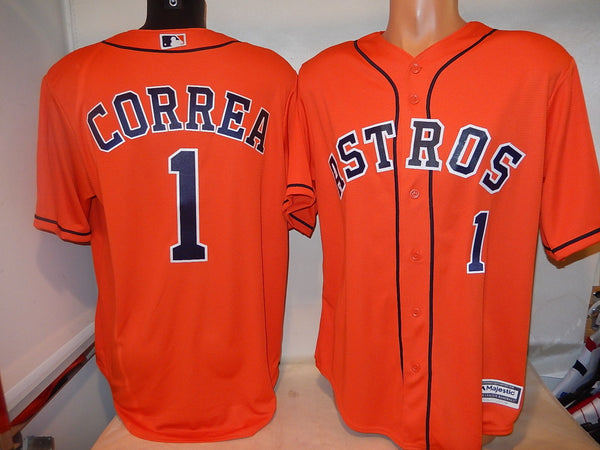 Houston Astros CARLOS CORREA Baseball Jersey ORANGE