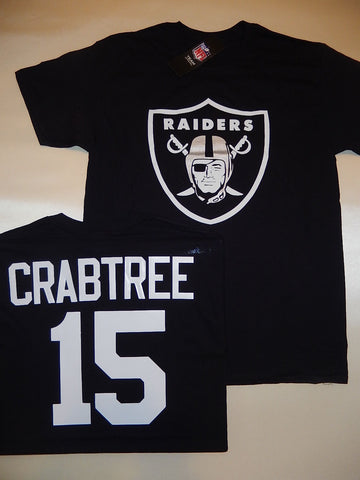 Oakland Raiders MICHAEL CRABTREE Football Eligible Receiver Shirt