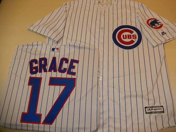 Chicago Cubs Sewn Baseball Jersey WHITE P/S