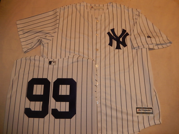 New York Yankees AARON JUDGE Baseball Jersey WHITE P/S