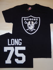 Oakland Raiders HOWIE LONG Football Eligible Receiver Shirt