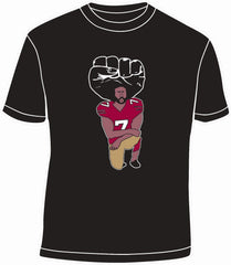 49ers COLIN KAEPERNICK United We Stand Kneeling Silent Protest Shirt