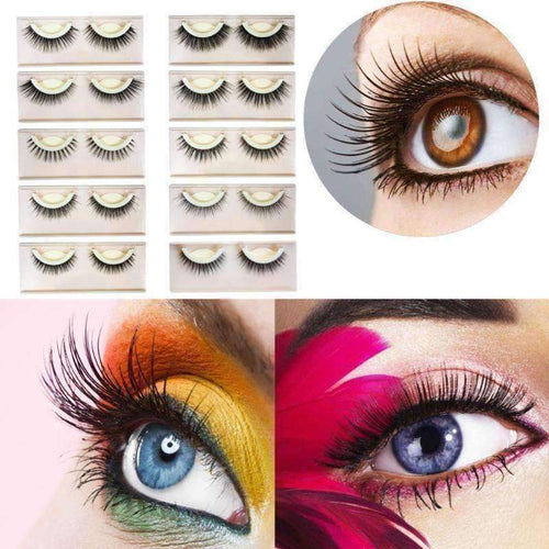3D Self Adhesive Eyelashes-Chic Zen