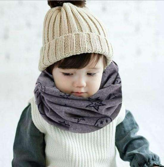 Baby Cotton Scarf-Scarves-Chic Zen