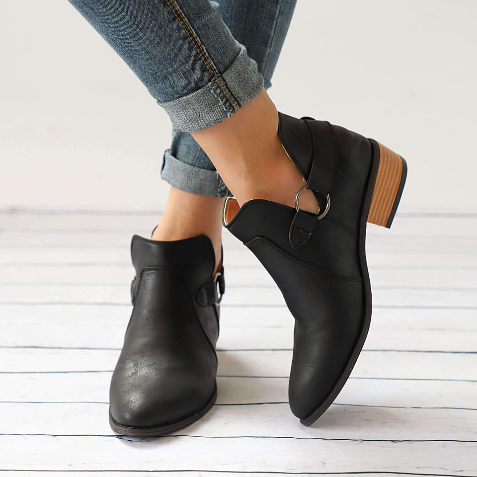 Casual Slip On Boots-Chic Zen