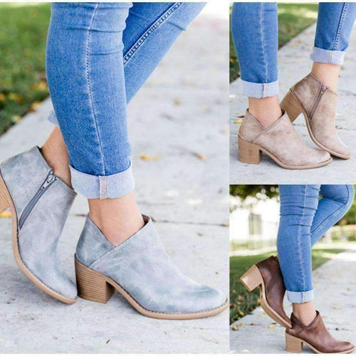 Elegant Ankle boots-Boots Collection-Chic Zen