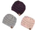 Load image into Gallery viewer, Ponytail Beanie-Beanies-Chic Zen