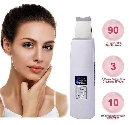 Ultrasonic Ion Face Scrubber-Chic Zen