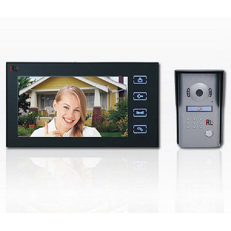 7'' Color Screen Video Doorphone (Touch Pad)