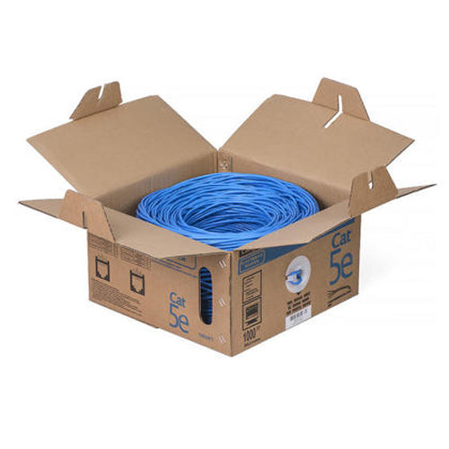 1000-FT Solid UTP RJ-45 Cable CAT5E AWG 24 350 MHZ
