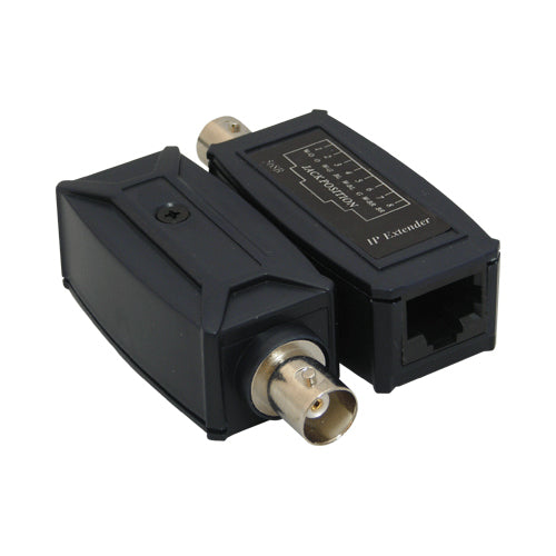 IP Extender Over Coax, BNC (F) to RJ-45 Jack up to 200M