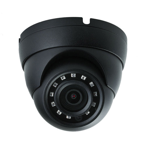 2MP 1080P 2.8mm 30M IR Black Dome DC12V IP67