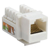 RJ45 Cat 5e Keystone Jack 90 degree Network Connector
