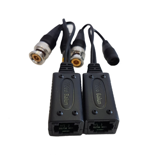 1-CH Passive Video/Audio Balun Power HD-CVI/TVI/AHD