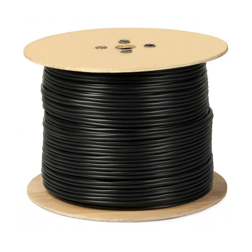 1000-FT RG6/U 18AWG 60% Braid FT4 Coaxial Video Cable