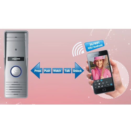 Internet Mobile Video Door Phone IP223 12V Smartphone/Pad An