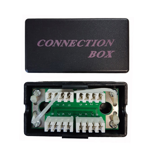 CAT5E JUNCTION BOX, IDC TYPE, COUPLER CABLE JOINER