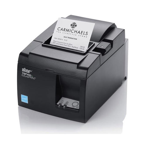 Star  Micronics Thermal, 2-Color Receipt Printer, Cutter, USB, Gray, US