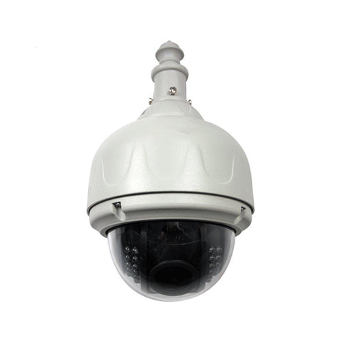 1MP 720P H 264 IP Speed Dome PTZ 8mm,F1 8-22 D1/CIF/QCIF