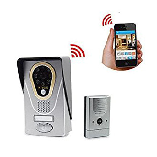 Wireless Intercom System 720p HD Wifi IP Video Door Phone