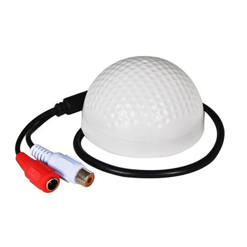 CCTV Microphone-golf-shape Sound Monitor