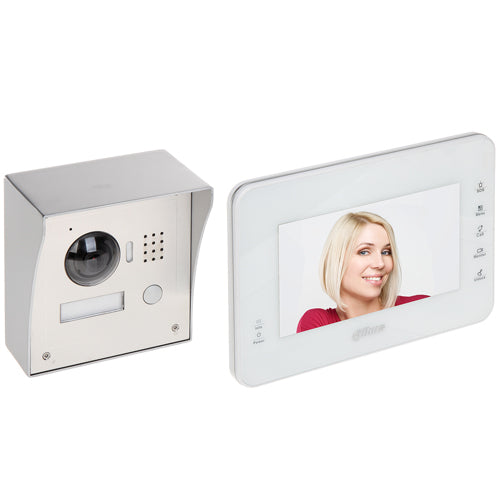 "7"" IP Touch Screen + 1.3MP Camera + POE Switch + Metal Box"