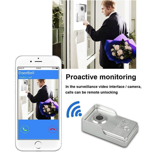 WiFi Visual Intercom DoorBell Digital Camera DC12V 1A
