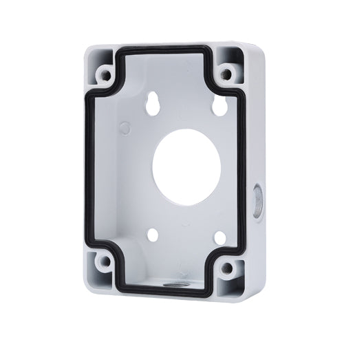Aluminum White Mount Base 115 x 160 x 35 Junction Box