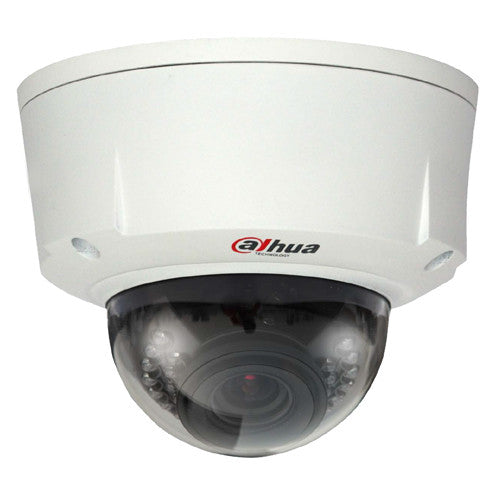 3MP 3.3~12mm Varifocal 20M IR  Dome DC12V/POE IP66/IK10