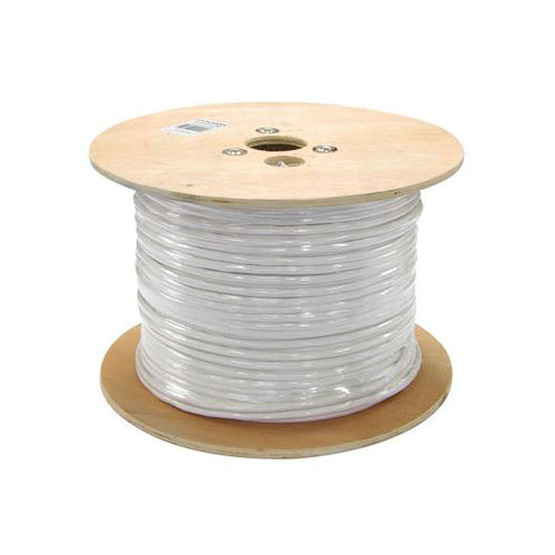 1000-FT CAT6a Cable UTP 23 AWG 0.57mm Barre Copper w/Reel 10Gbps Ethernet applications.