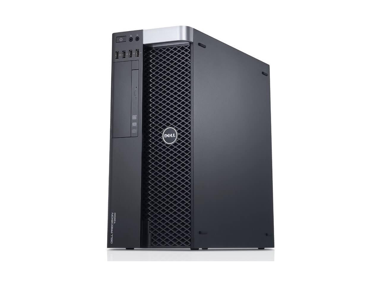 Dell Precision T3600 Workstation E5-1607 Quad Core 3Ghz 16GB 500GB Dual DVI