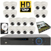 Kit 16 - HD CVI 4MP - CVR Pentabrid Full HD 16 Port System Kit