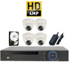 Kit 4 - HD CVI 4MP - CVR Pentabrid Full HD 4 Port System Kit