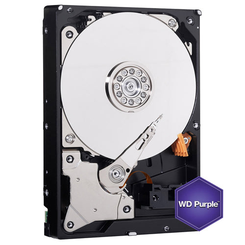 W. Digital 2TB Purple 64MB Cache SATA 6.0Gb/s Surveillance