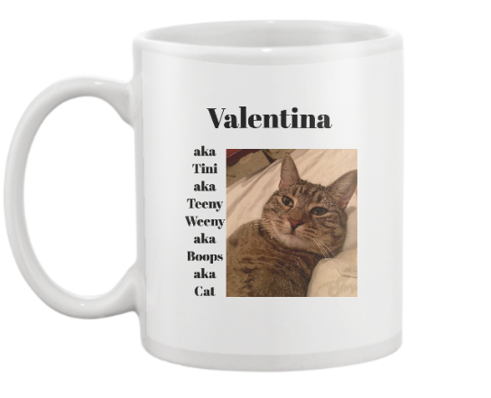 Name That Pet 11 oz Mug - Personalized