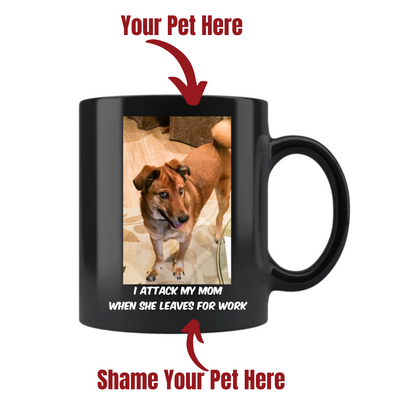 Pets on Blast 11 oz Mug - Personalized