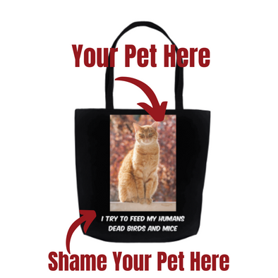 "Pets on Blast 18"" Tote - Personalized"