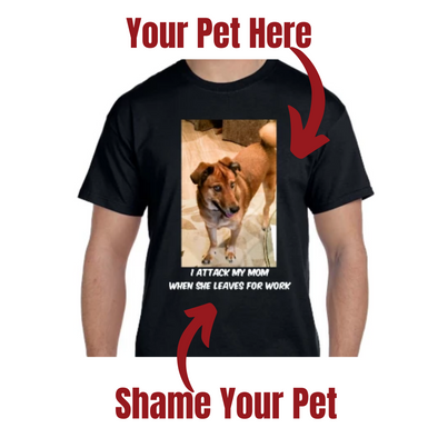 Pets on Blast Unisex T-Shirt - Personalized