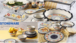 Stoneware Dinneraware | Dishwasher Safe and Microwave Safe