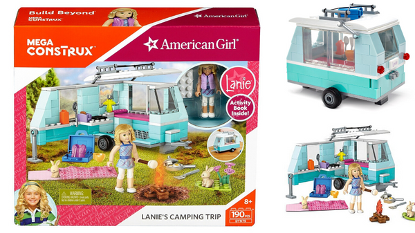 Check Out the Craze: American Girl Lanie's Camping Trip Mega Constux Set